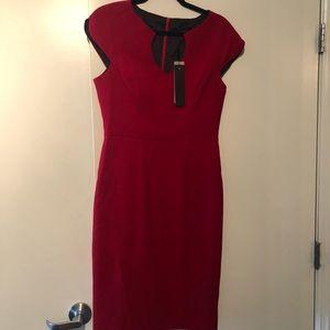 Black Halo NWT red dress